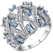big fashion rings images Fashion full crystal big wedding rings for women 5 color oxibee jpg