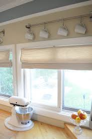 Kitchen Window Treatments Ideas Pictures Valances For Kitchen Windows Mini Blinds To Roman Shades