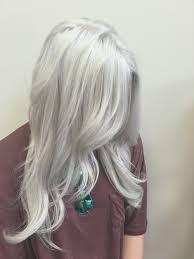 silver blonde haircolor silver hair white hair gray hair old lady hair color нaιr