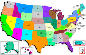 map of is states united states maps