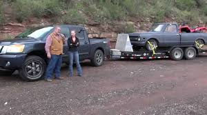 nissan titan 2015 nissan titan 2015 review towing trailers see the difference