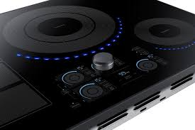 Magnetic Cooktop Samsung Nz30k7880ug 30 Inch Black Stainless Steel Series 4 Element