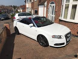 convertible audi red audi a4 convertible red white in syston leicestershire gumtree