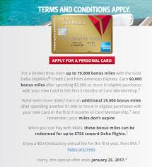 american express delta gold 75 000 mile offer check to see if