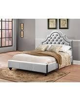 Silver Velvet Headboard by Fall Savings On Furniture World Frida Velvet Upholstered Bed With