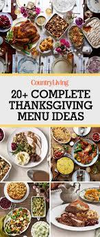 26 thanksgiving menus that will make november so much easier