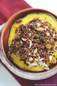 thanksgiving vegetarian recipes quinoa stuffed acorn squash