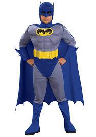Peanut Butter Halloween Costume Child Deluxe Muscle Chest Batman