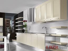 contemporary kitchen cabinets on kitchen with modern walnut