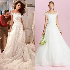 oscar de la renta brautkleid shop amal alamuddin s oscar de la renta wedding dress popsugar