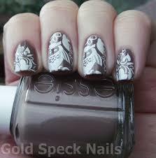 base coat la femme base colour essie glamour purse stamp