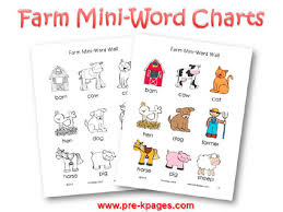 farm theme activities in preschool