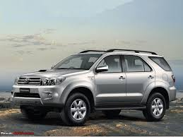 toyota fortuner toyota fortuner vs upcoming face lifted toyota fortuner team bhp