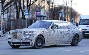 2018 rolls royce phantom front angle spy photos car models 2017