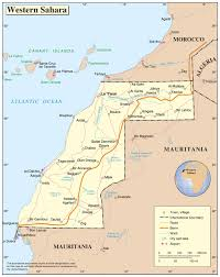 Map Of Africa With Cities by Maps Of Western Sahara Map Library Maps Of The World
