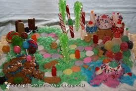 candyland birthday cake coolest candyland cakes