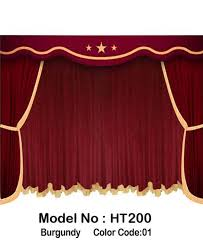 Burgundy Velvet Curtains Velvet Curtains Home Theater Stage Curtains Panels And Drapes