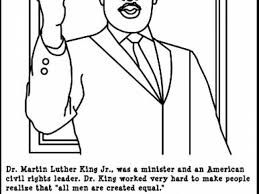martin luther king coloring pages for kindergarten and mlk martin