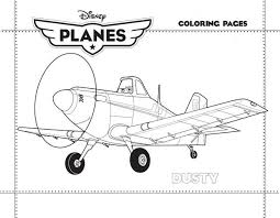 dusty crophopper disney planes coloring kids play color