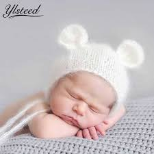 baby photography props aliexpress buy newborn mohair ear hat newborn