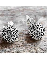 thailand earrings deal alert sterling silver stud earrings bursting thailand