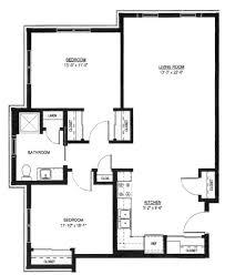 two bedroom two bath floor plans bedroom 2 bedroom 1 bath house plans