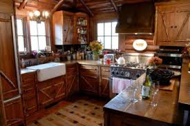 Rustic Cottage Kitchens - 29 rustic cabin kitchens small log cabin kitchens houzz