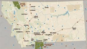 Montana City Map by Yellowstone Map Official Yellowstone National Park Map Map Of 25