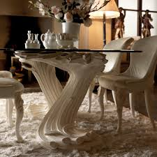 large glass dining room table exclusive italian pedestal large glass dining table juliettes