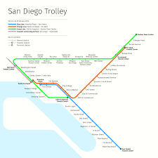 San Diego Public Transportation Map by Index Understand The Plan