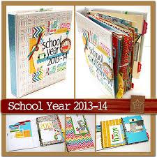 scrapbook binder scrapscription school year 2013 14 kit release featuring