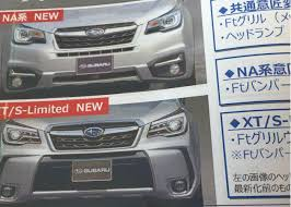 2016 subaru forester interior 2016 subaru forester facelift leaked via scanned brochure