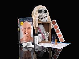 halloween makeup kits professional go bald this halloween with a cap kit mehron makeup news