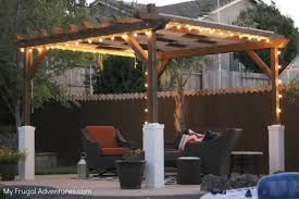 Building A Freestanding Pergola by How To Build A Pergola In A Weekend