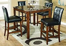 amazon com ashley furniture signature design theo dining room