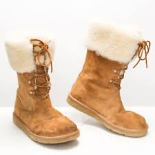 womens ugg boots size 10 womens ugg boots 1892 montclair chestnut size 10 metal patch