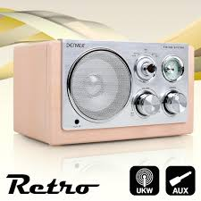 radio küche design micro radio retro holz design küche büro portabel batterie