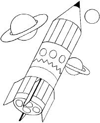 38 dessins de coloriage Fusee à imprimer