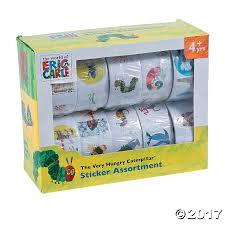 spirit halloween carle place the world of eric carle sticker assortment