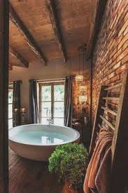 Rustic Cabin Bathroom - simple rustic cabin bathroom make mine rustic pinterest