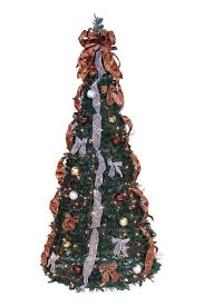 the aisle pop up 6 green artificial tree with