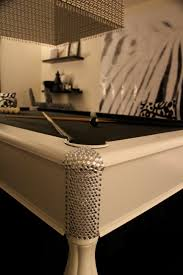 my white pool table with black velvet fabric the pool table was a