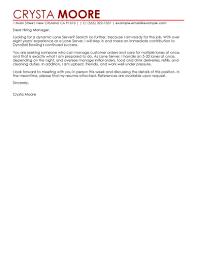 Best Yoga Resume by Sample Cover Letter For Restaurant Server