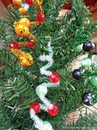 easy ornaments for pipe cleaner