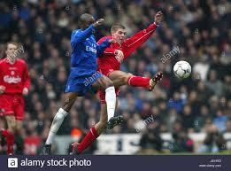 Galhsschelsea William Gallas Steven Gerrard Liverpool V Chelsea Anfield