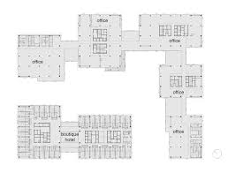 office block floor plans gallery of taiyuan southern station west plaza as architecture