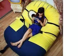 despicable me minion sofa bed beanbag