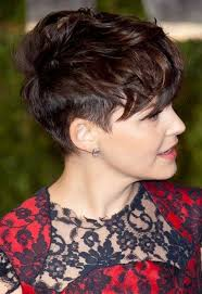 ladies hairstyles short on top longer at back check out these 15 messy pixie cuts from short hairstyles