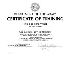 certificate of training certificate of training template scan