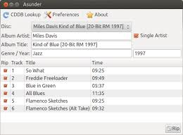 ripping cds to mp3s using asunder in ubuntu linux kimbriggs com